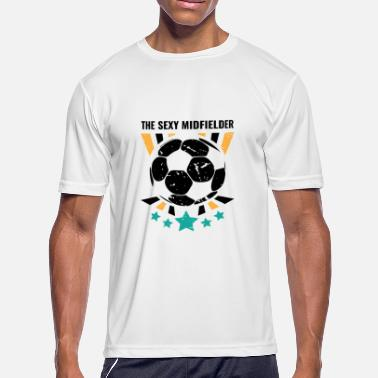 Midfielder Funny Soccer Midfielders Gift for Sweepers Football Players, Coaches and Fans - Men's Sport T-Shirt