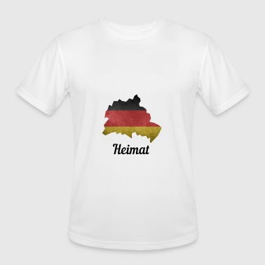 Prenzlauer Berg Germany, Hometown, Germany Flag, Berlin, Spandau - Men's Moisture Wicking Performance T-Shirt