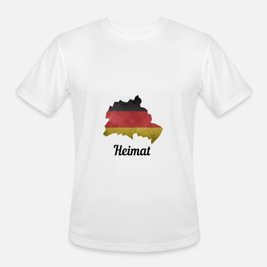 Schöneberg Germany, Hometown, Germany Flag, Berlin, Spandau - Men's Moisture Wicking Performance T-Shirt