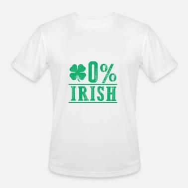 3ac5ec59 0% Zero Percent Irish St Patricks Day Funny Clover Men's Premium T ...