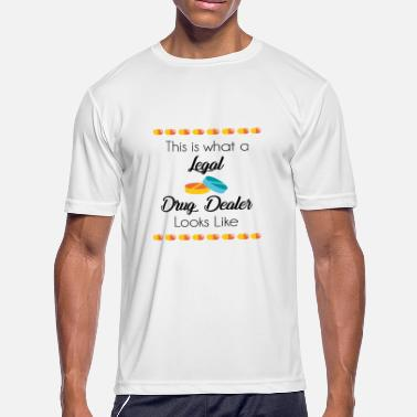 Legalization Legal Drug Dealer - Men's Moisture Wicking Performance T-Shirt