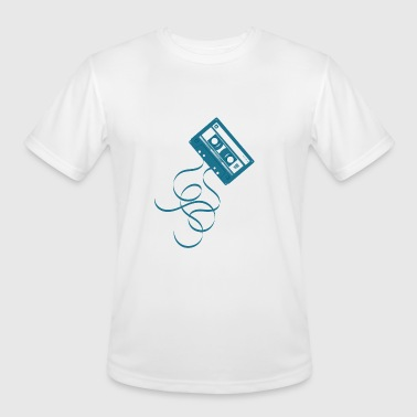 Cac The Compact Audio Cassette CAC Musicassette MC - Men's Moisture Wicking Performance T-Shirt