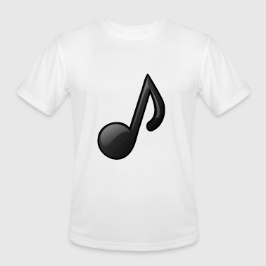 Note Clue Music Note Musical Notes Instrument Gift Present - Men's Moisture Wicking Performance T-Shirt
