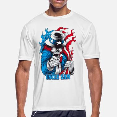 Uncle Sam Uncle Sam - Men's Moisture Wicking Performance T-Shirt