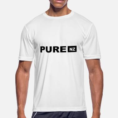 Pacific Auckland Pure NZ - New Zealand - Auckland - Wellington - Ki - Men's Moisture Wicking Performance T-Shirt