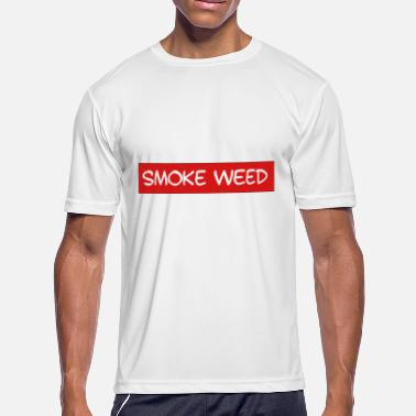 Smoke Weed Smoke Weed - Men's Moisture Wicking Performance T-Shirt