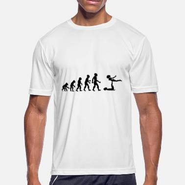 Acrobatic Evolution Gymnastics Gymnast Acrobatics Fitness - Men's Moisture Wicking Performance T-Shirt