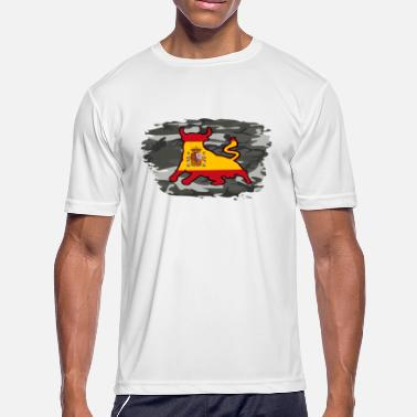 Union Army Spain army bull - Men's Moisture Wicking Performance T-Shirt