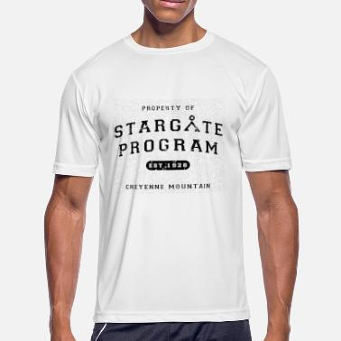 Stargate property of stargate - Men's Moisture Wicking Performance T-Shirt