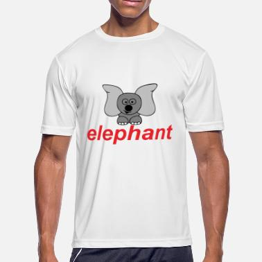 Big Ears big eared elephant - Men's Moisture Wicking Performance T-Shirt