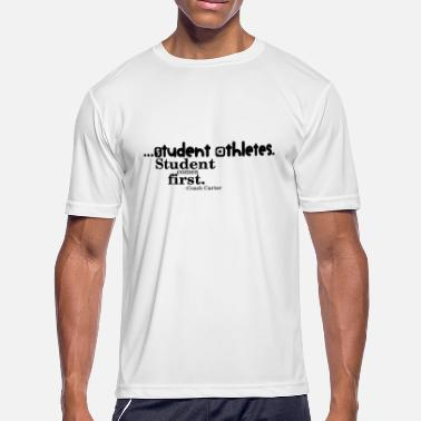 Student-athlete student - Men's Moisture Wicking Performance T-Shirt