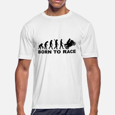 Born To Race BORN TO RACE - Men's Moisture Wicking Performance T-Shirt
