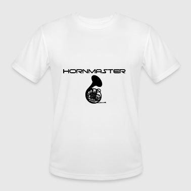 horn - Men's Moisture Wicking Performance T-Shirt