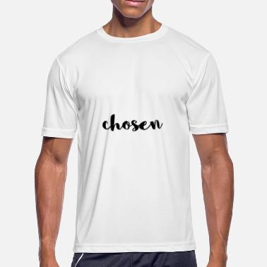 Typo Fonts chosen typo word typo shirt - Men's Sport T-Shirt