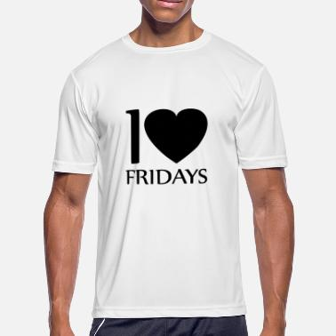 Love Fridays i love fridays - Men's Moisture Wicking Performance T-Shirt