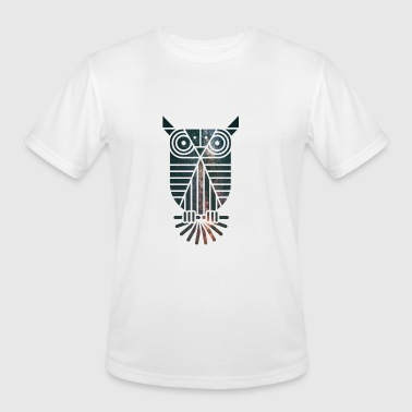 Owl - Men's Moisture Wicking Performance T-Shirt
