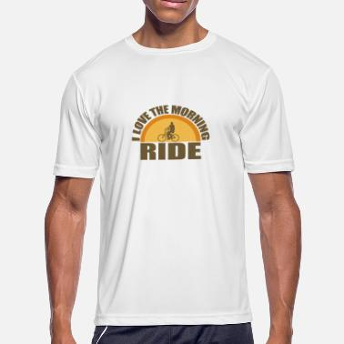 Morning Ride Morning Ride - Men's Moisture Wicking Performance T-Shirt