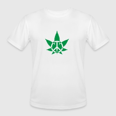 Peace Weed - Men's Moisture Wicking Performance T-Shirt