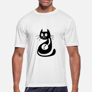 Innocent Cat Innocent Cat - Men's Moisture Wicking Performance T-Shirt