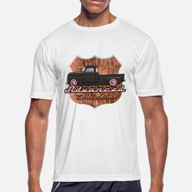 1949 Chevy Pickup Advance Black Truck - Men's Moisture Wicking Performance T-Shirt