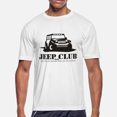 4x4 Jeep Jeep 4x4 CLub - Men's Moisture Wicking Performance T-Shirt