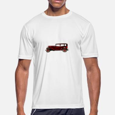 Retro Car Retro Car - Men's Moisture Wicking Performance T-Shirt