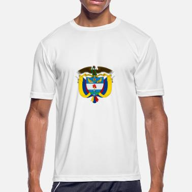 El Dorado National Coat Of Arms Of Colombia - Men's Moisture Wicking Performance T-Shirt