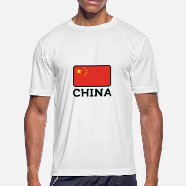 Republic Of China Flag National Flag Of China - Men's Moisture Wicking Performance T-Shirt
