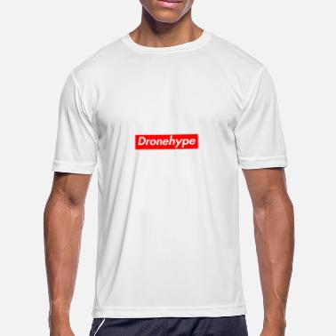 Supreme Bogo DRONEHYPE Box Logo - Drone BOGO - Men's Moisture Wicking Performance T-Shirt