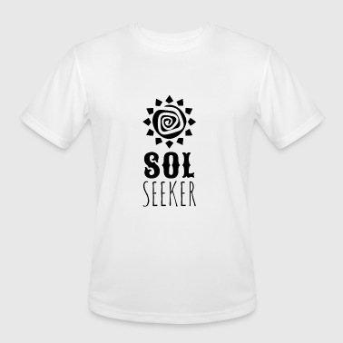 Seeker Sol Seeker - Sol Seeker - Men's Moisture Wicking Performance T-Shirt