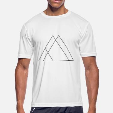 Symbols And Shapes Triangle symbols shapes - Men's Sport T-Shirt
