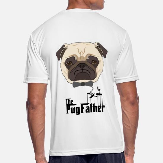 b87351de0 The Pug Father ! Funny Dog Men's Sport T-Shirt | Spreadshirt