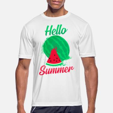 Watermelon Watermelon summer fruit - Men's Sport T-Shirt
