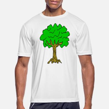 Linden Beautiful nature. Tree for environment and linden - Men's Sport T-Shirt