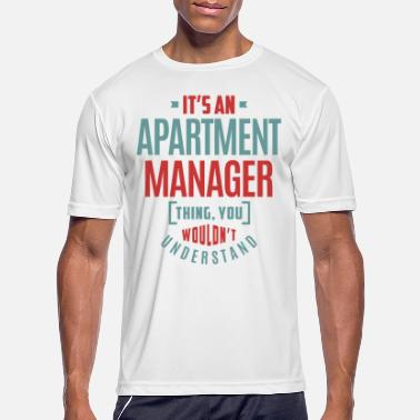 Apartment Apartment Manager - Men's Sport T-Shirt