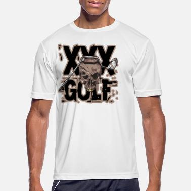Cross Golf Golf Skull - Cross Golf - Golfing 1 - Men's Sport T-Shirt