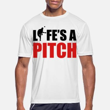 Pitch Life's a pitch - Men's Sport T-Shirt