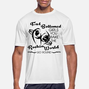 Bottomed Fat Bottomed Girls Queen Premium T Shirt - Men's Sport T-Shirt