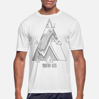mountain bliss - Men's Sport T-Shirt