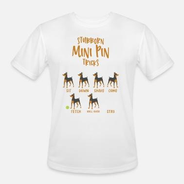Stubborn Pug Tricks Dog Sit Down Shake Come Fetch Standard Unisex T-shirt