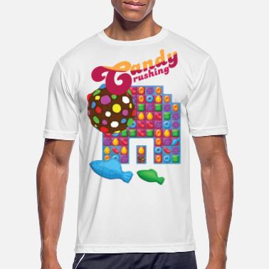 Spreadgaming Candy Crushing #spreadgaming - Men's Sport T-Shirt