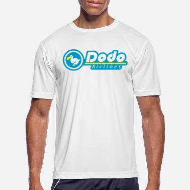 dodo airlines / blue - Men's Sport T-Shirt