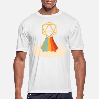 D20 Dungeon Dice RPG Table Top Role Playing Game - Men's Sport T-Shirt