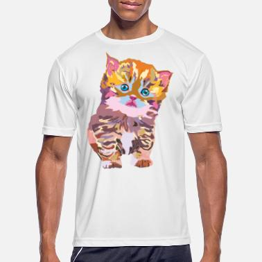 Awesome Fresh Hipster Stlye Fat Create Your Own wpap kitten - Men's Sport T-Shirt
