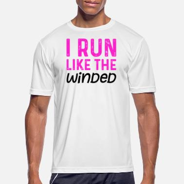 Funny Running Funny Running Quote Struggle Run Winded Runner - Men's Sport T-Shirt
