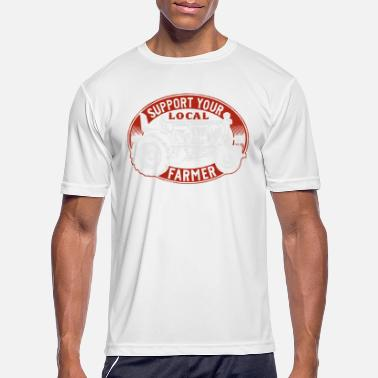 Local support you local farmer - Men's Sport T-Shirt
