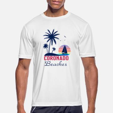 Coronado Coronado Beaches Summer Vacation T Shirt - Men's Sport T-Shirt