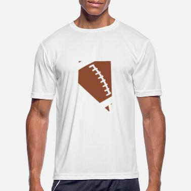 Football Nevada Fun Football Lover Gift - Men's Sport T-Shirt