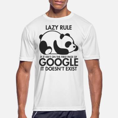Lazy Lazy Panda - Men's Sport T-Shirt