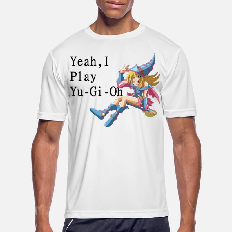 Yu-Gi-Oh Yami Yugi M/änner T-Shirt grau S